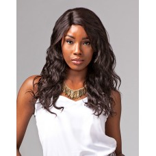 100%  Brazillian  hair Natural Wavy wig