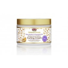 African Pride Moisture Miracle Shea Butter & Flaxseed Oil Curling Cream (12 oz.