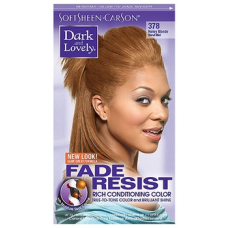 Dark and Lovely - Permanent Hair Color Honey Blond 378