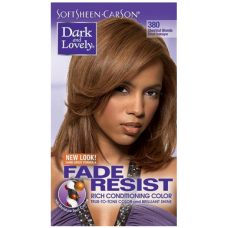Dark and Lovely - Permanent Hair Color Chestnut Blonde 380