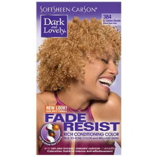 Dark and Lovely - Permanent Hair Color Light Golden Blond 384