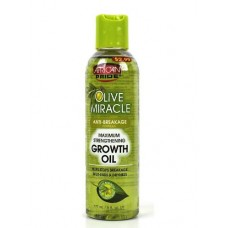 African Pride Olive Miracle Hair Growth Oil 6 oz. (Pack of 2)