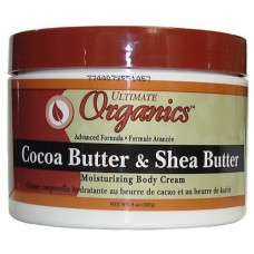 Ultimate Organics Cocoa Butter & Shea Butter Moisturizing Body Cream.227g by Africa's Best