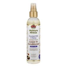 African Pride Moisture Miracle Leave In Spray 237ml Coconut Milk & Honey