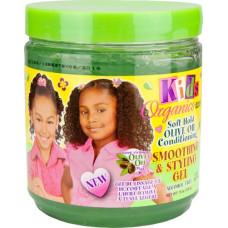 Kids Organics - Soft Hold Olive Oil Smoothing & Styling Gel 15oz