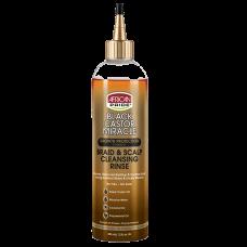 African Pride Black Castor Miracle Braid & Scalp Cleansing Rinse 355 ml