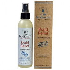 Dr Miracles Braid Relief Spray Formula Gentle 6 Oz