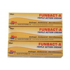 Funbact-A Triple Action Cream 3x