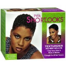 Lusters Pink Shortlooks Texturizer