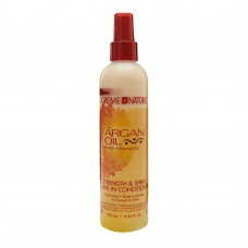 cream of nature Argan Oil Leave In Conditioner