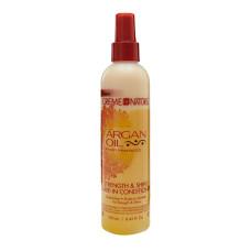 cream of nature Argan Oil Leave In Conditioner