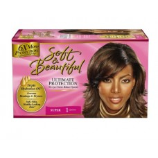 Soft & Beautiful No-Lye Creme Relaxer System, Ultimate Protection, Super