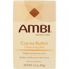 Ambi Skincare Bars Cocoa Butter Cleansing Bar, 3.5 Ounce
