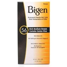 Bigen #56 Rich Medium Brown Permanent Hair Color