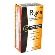 Bigen #47 rich  Medium Chestnut Permanent Powder Hair Color
