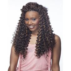 Cherish Bulk Synthetic Braid Long Curly Hair Extension Braids Spanish Curl 22''