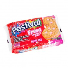 festival cookies strawberry