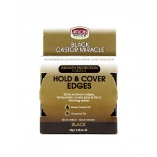 AFRICAN PRIDE BLACK CASTOR MIRACLE HOLD & COVER EDGES