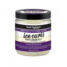 Aunt Jackie's Flaxseed Collection Grapeseed Collection, Ice Curls Glossy Curling Jelly; Sulfate and Paraben Free