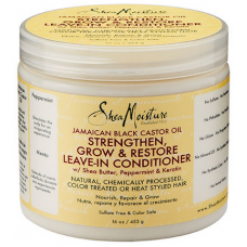 Shea Moisture - Jamaican Black Castor Oil Strengthen, Grow & Restore Leave-In Conditioner (16oz)