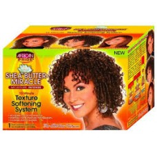 African Pride Shea Butter Miracle Texture Softening Kit
