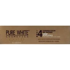 pure white  gold tube cream