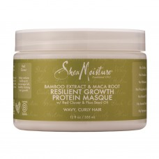 Shea Moisture BAMBOO EXTRACT & MACA ROOT RESILIENT GROWTH PROTEIN MASQUE 12 OZ