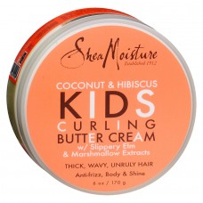 Shea Moisture Coconut & Hibiscus Kids Curling Butter Cream (6 oz.)