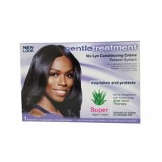Gentle Treatment No-Lye Creme Relaxer Kit Super